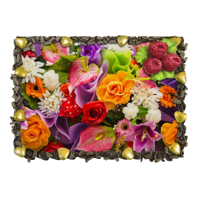 Торт Printio Цветы отсутствует автомир 35 2017