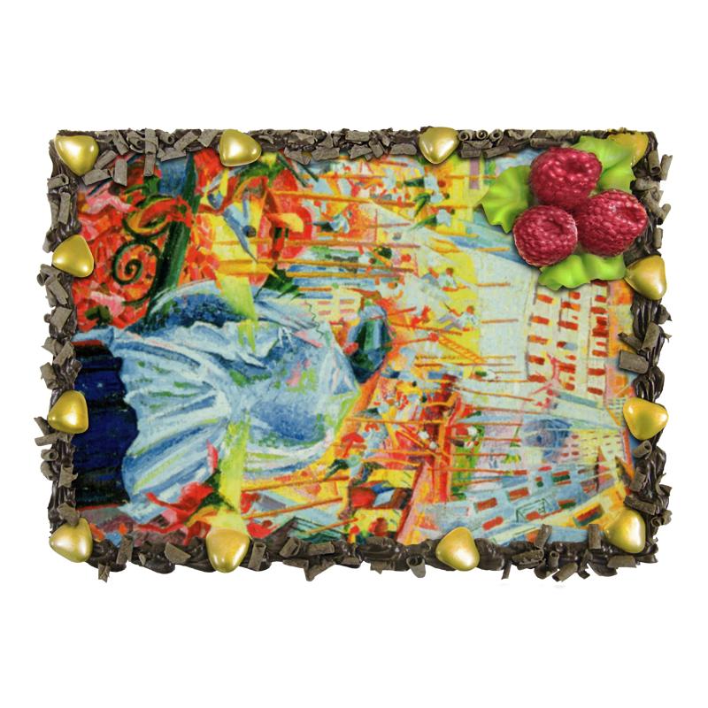 Торт Printio Улица входит в дом (умберто боччони) отсутствует автомир 35 2017