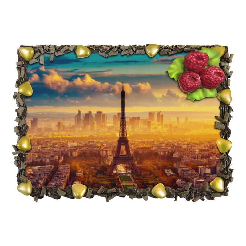 Торт Printio Париж макет эйфелевой башни спб