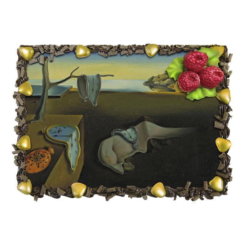 Торт Printio Постоянство памяти торт printio девушка пытающаяся защититься от стрелы эроса