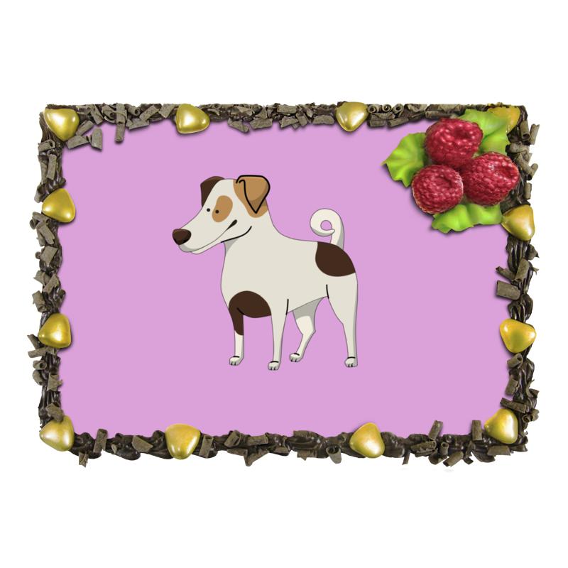 Торт Printio Джек рассел.собака джек восьмеркин американец 2 dvd