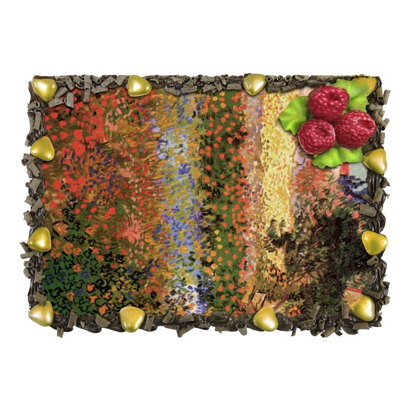 Торт Printio Цветущий сад (винсент ван гог) maytoni настольная лампа maytoni calvin z181 tl 01 b