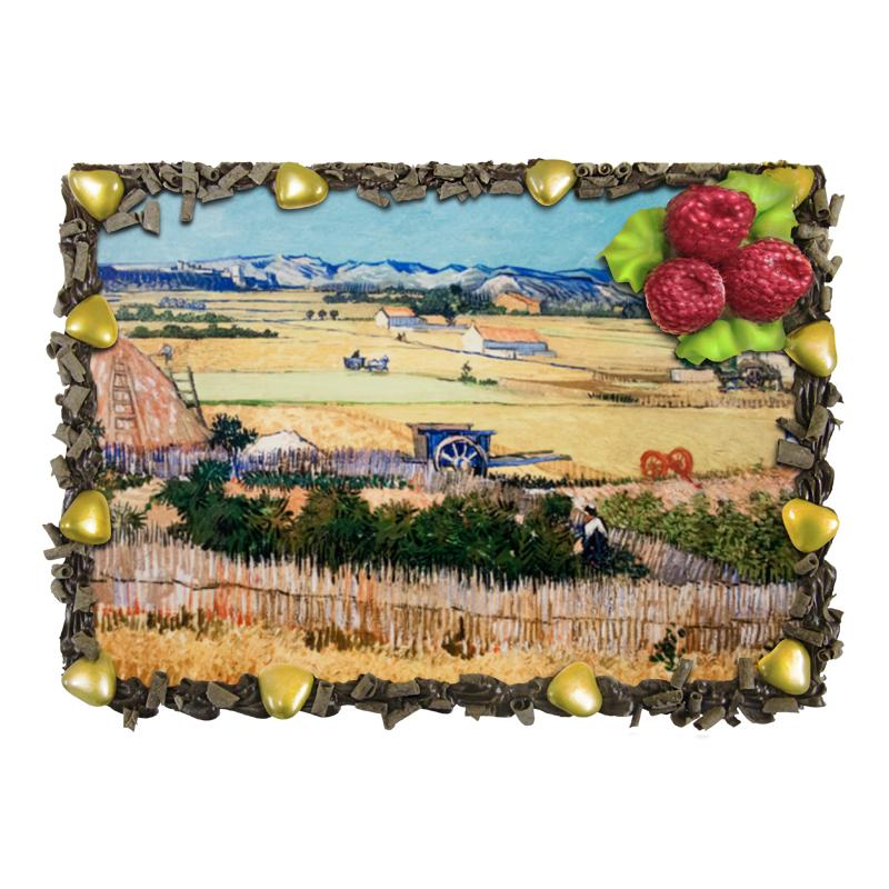 Торт Printio Урожай (картина ван гога) чехол для ноутбука 14 printio сова в наушниках
