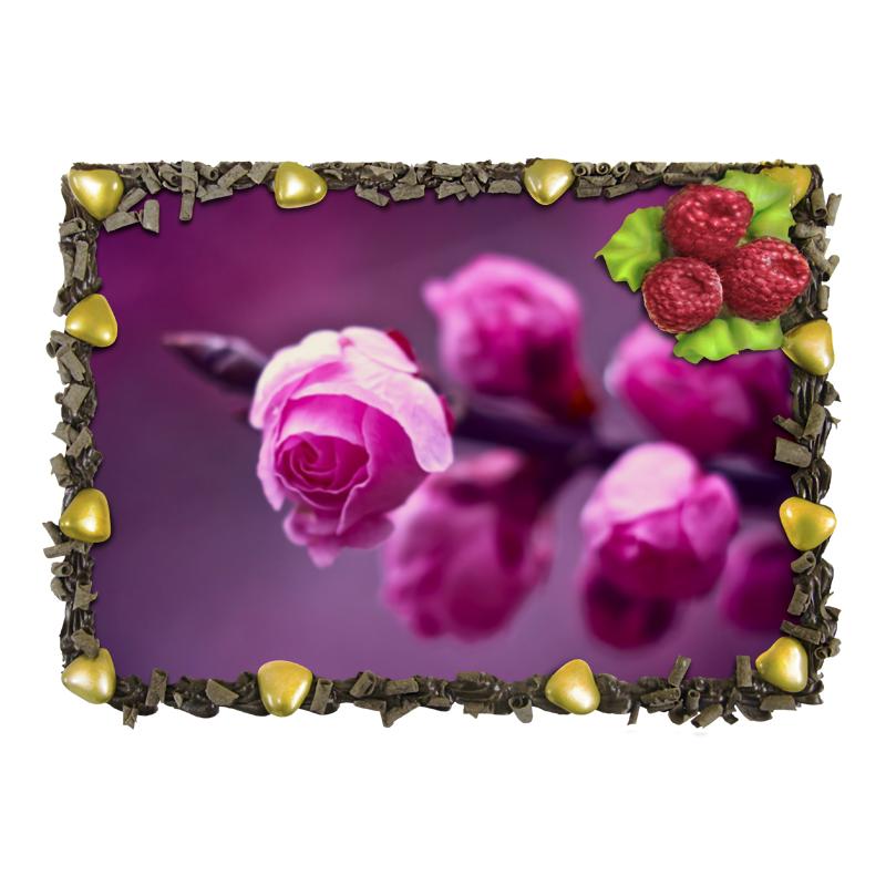 Торт Printio Розовые розы подарочная коробка большая пенал printio розовые розы