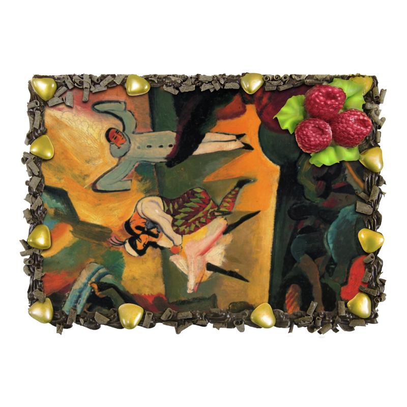Торт Printio Русский балет (август маке) август мягкая мозаика дерево цвет основы синий