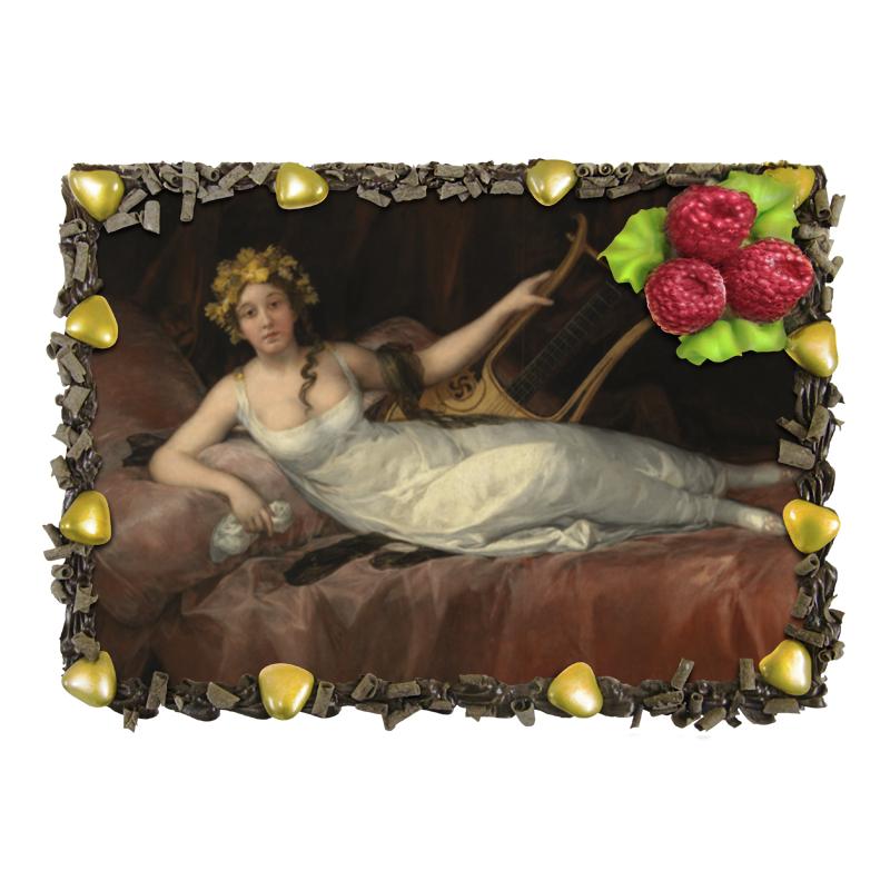 Торт Printio Портрет маркизы санта-крус (картина гойи) отсутствует автомир 35 2017
