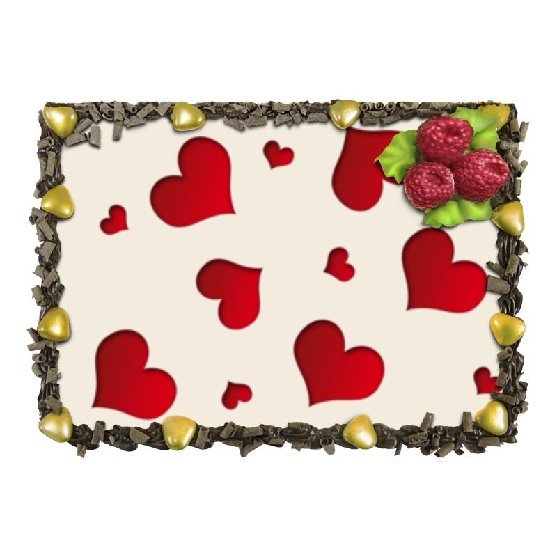 Торт Printio сердечки ксения крот цепочки первое знакомство