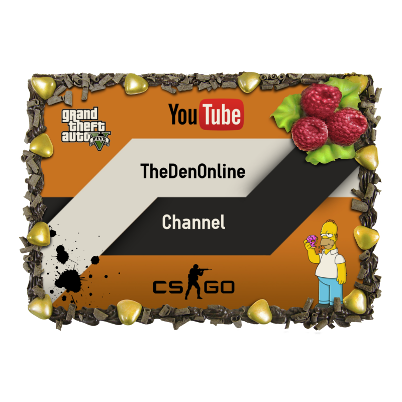 Торт Printio Official cake channel thedenonline channel торт printio html 5