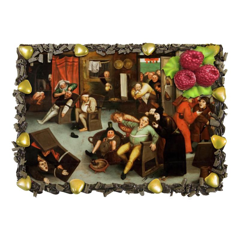 Торт Printio Извлечение камня глупости (брейгель младший) торт printio триумф смерти питер брейгель старший