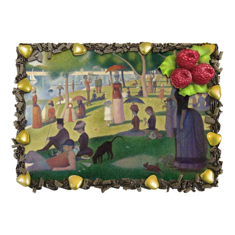 Торт Printio Воскресный день на острове гранд-жатт воскресный день билибин живопись футляр великие полотна