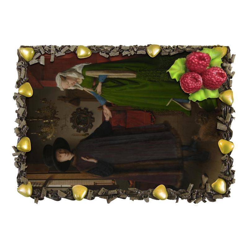 Торт Printio Портрет четы арнольфини (ян ван эйк) отсутствует автомир 35 2017