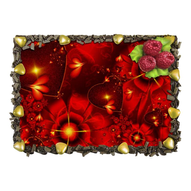 Торт Printio Красные цветы отсутствует автомир 35 2017