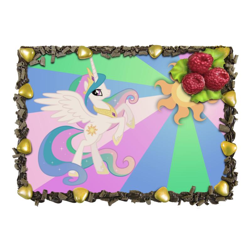 Торт Printio Princess celestia color line гобелен 180х145 printio princess luna color line