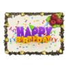 """Торт """"С Днем Рождения"""" - праздник, любовь, еда и напитки, день рождения"""