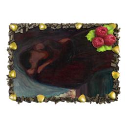 """Торт """"Поцелуй (картина Мунка 1897 года)"""" - картина, мунк"""