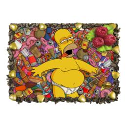 """Торт """"Гомер Симпсон"""" - simpsons, симпсоны, гомер симпсон, homer simpson"""