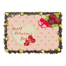 "Торт ""День св. Валентина"" - любовь, день святого валентина, романтика, валентинка, день влюбленных"