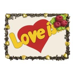 """Торт """"Любовь"""" - еда и напитки, love is, любовь, романтика"""