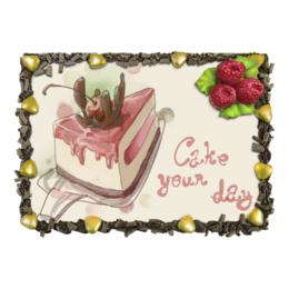 """Торт """"Cake your day"""" - сладости, вишня, пирог, черешня"""