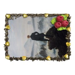 "Торт ""Странник над морем тумана (Каспар Фридрих)"" - картина, фридрих"