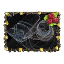"""Торт """"Абстрактный дизайн"""" - графика, абстракция, фигуры, лучи, фрактал"""
