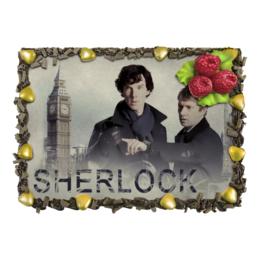 "Торт ""Вкусный Шерлок"" - шерлок, шерлок холмс, бенедикт камбербетч, сериал, ватсон"