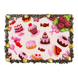 """Торт """"Кондитерский"""" - сладости, конфета, пирожное, мафин, лединец"""