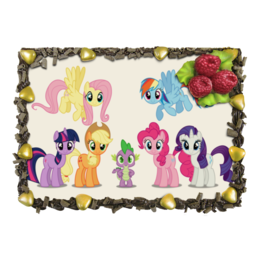 "Торт ""Торт My Little Pony"" - my little pony, friendship is magic, rainbow dash, пони, радуга"