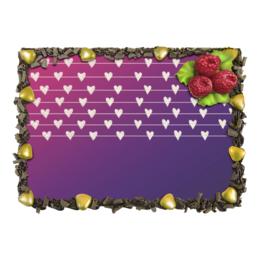 """Торт """"related hearts"""" - сердце, фиолетовый, мило, сладкое"""