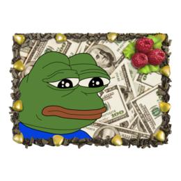 """Торт """"SAD FROG"""" - мем, meme, грустная лягушка, sad frog"""