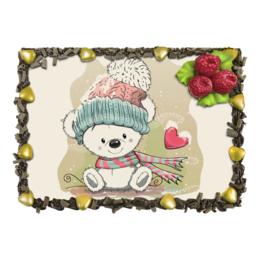 "Торт ""Медвежонок"" - юмор, рисунок, зима, медвежонок, мультяшка"