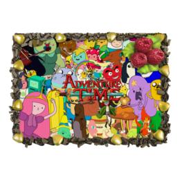 """Торт """"Adventure Time"""" - мультфильм, коллаж, для детей, adventure time"""
