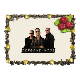"Торт ""Depeche Mode - The Band"" - music, depeche mode, martin gore, synthpop"