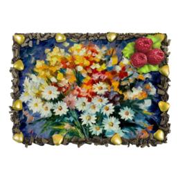 """Торт """"Вкусный Натюрморт"""" - цветы, flowers, день рождения"""