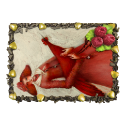 """Торт """"Красный петух"""" - праздник, новый год, подарок, гламур, петух"""