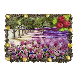 "Торт ""Яблоневый сад"" - 8 марта, яблоневый сад"