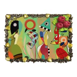 "Торт ""Las Musas (Василий Кандинский)"" - картина, кандинский, живопись, музы"
