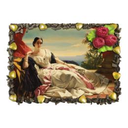 "Торт ""портрет княгини Л. И. Витгенштейн (Винтерхальтер)"" - картина, винтерхальтер"