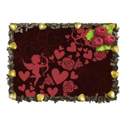 """Торт """"День св. Валентина"""" - любовь, ангелы, день святого валентина, романтика, день влюбленных"""