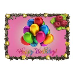 """Торт """"С Днём Рождения"""" - праздник, любовь, еда и напитки, день рождения"""