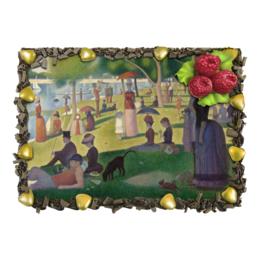 """Торт """"Воскресный день на острове Гранд-Жатт"""" - картина, сёра"""