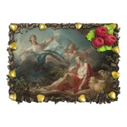 """Торт """"Диана и Эндимион (Жан Оноре Фрагонар)"""" - картина, фрагонар"""