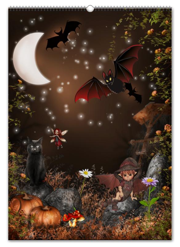 Перекидной Календарь А2 Printio Магия фэнтези. фея