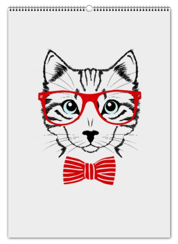 Перекидной Календарь А2 Printio Кошка андрей дашков домашнее животное