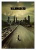 """Перекидной Календарь А2 """"Ходячие мертвецы / The Walking Dead"""" - рисунок, кино, сериал, ужасы"""