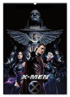 """Перекидной Календарь А2 """"Люди Икс / X-Men"""" - кино, рисунок, люди икс"""