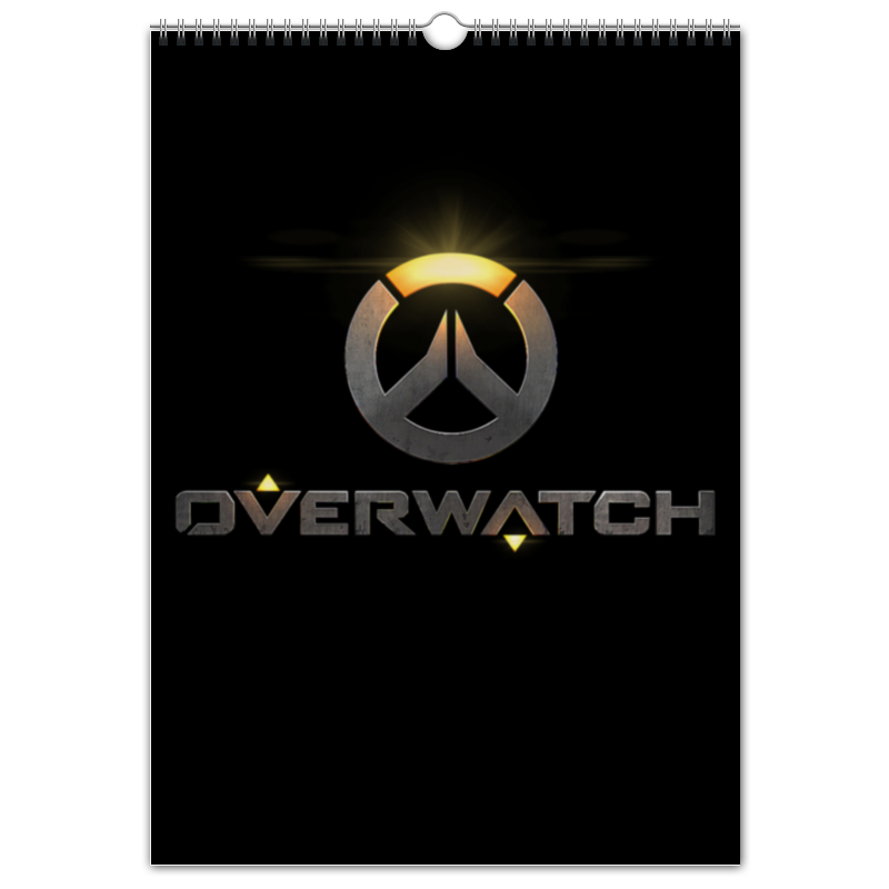 Перекидной Календарь А3 Printio Overwatch