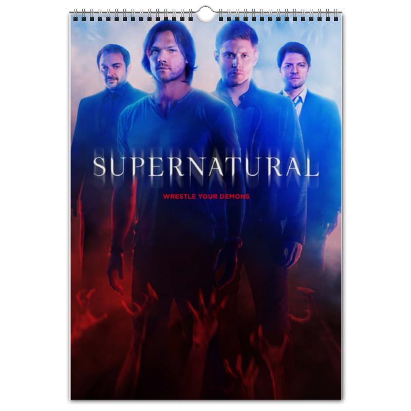 Перекидной Календарь А3 Printio Сверхъестественное / supernatural салль о м в ожидании нового года адвент календарь а3