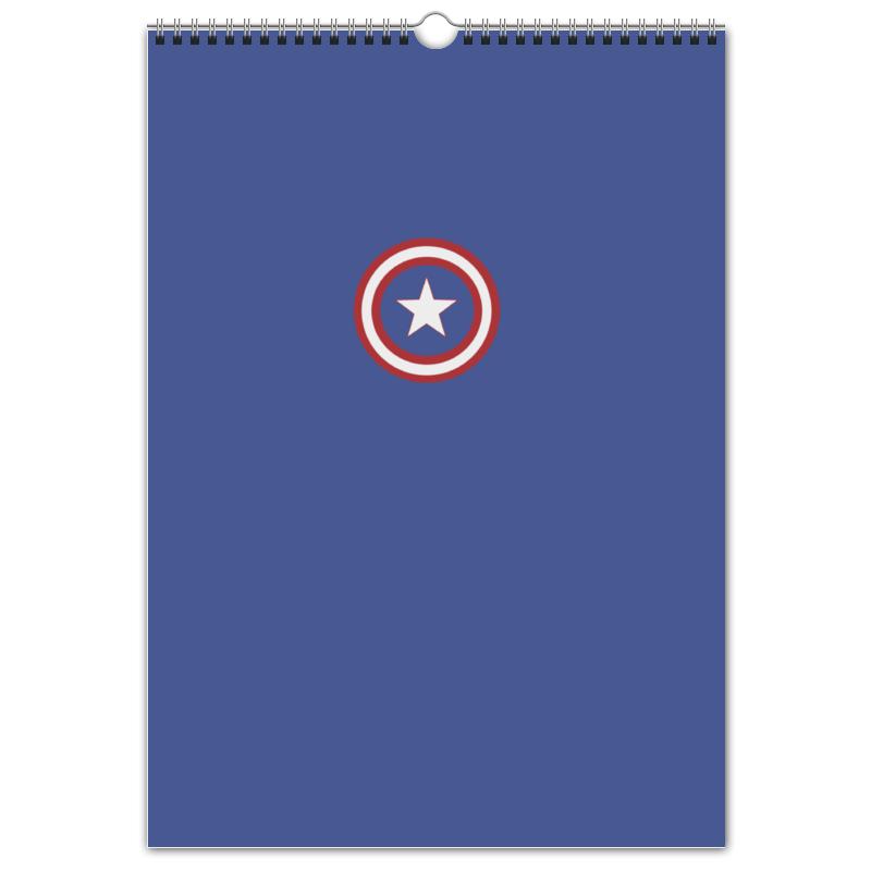 Перекидной Календарь А3 Printio Капитан америка салль о м в ожидании нового года адвент календарь а3