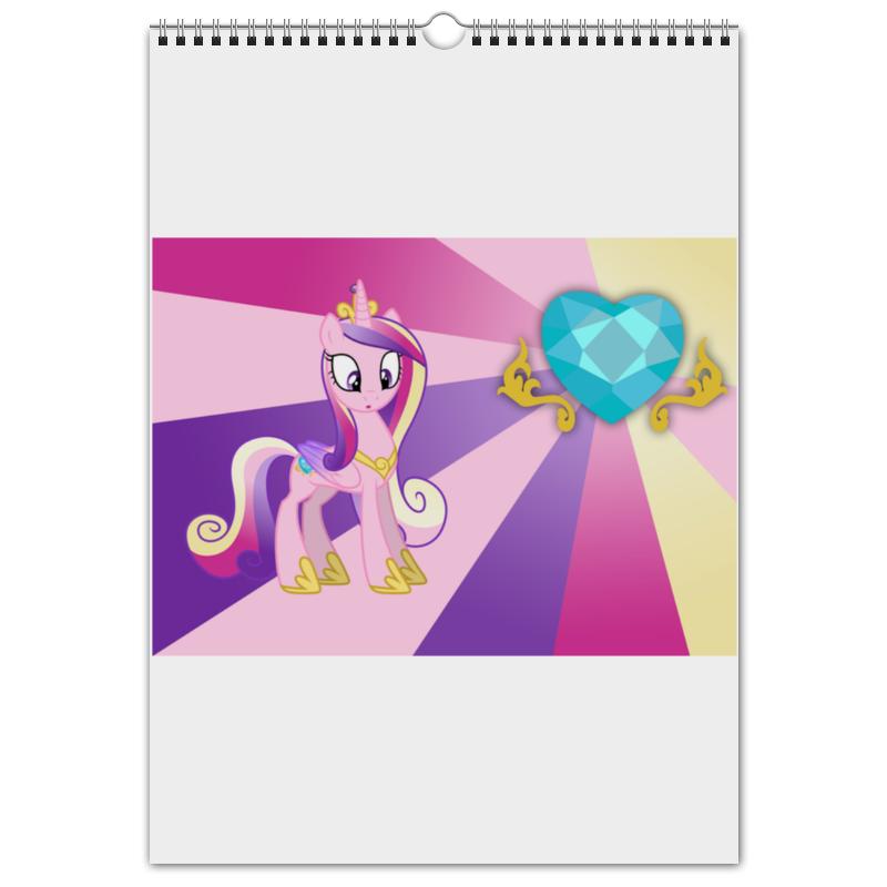 Перекидной Календарь А3 Printio Princess cadence color line